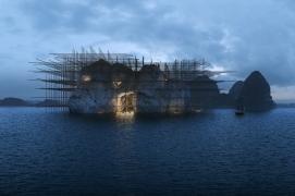 Les Symplégades. Suggestion sur le récit de la quête de la Toison d'or par Jason et les Argonautes.