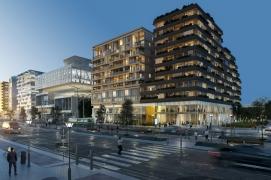 DATA. Concours pour la réalisation d'un immeuble de bureaux et logements, 13e arrondissement, Paris.